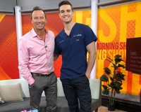 Dr Docherty on channel 7's The Morning Show