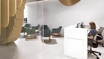 About Smiles Dental Centres lobby area